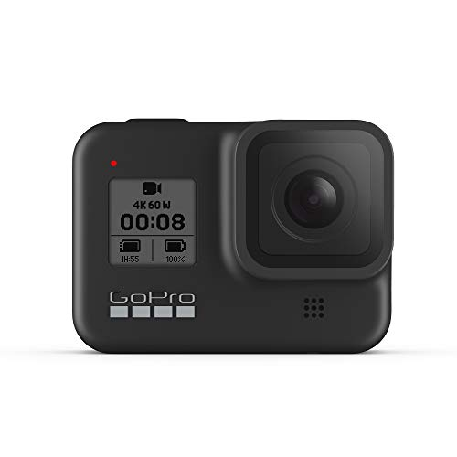 GoPro HERO8 Black - Cámara de acción Impermeable con visualización táctil 4K Ultra HD vídeo 12...