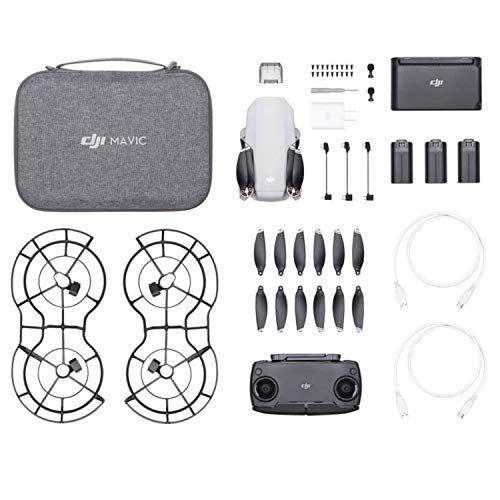 DJI CP.Ma.00000123.01 Mavic Mini Fly More Combo, Color, Pack of Aquete de 1